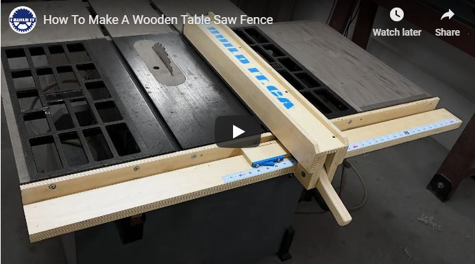 Cheap Wooden Table Saw Fence