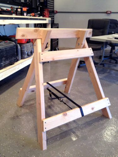Collapsible Sawhorse Plans