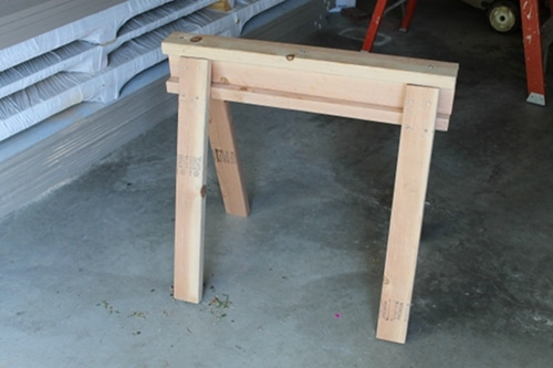 Easy To Build Sawhorse