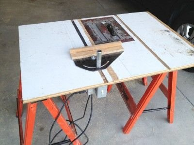 Flat Folding Table Saw