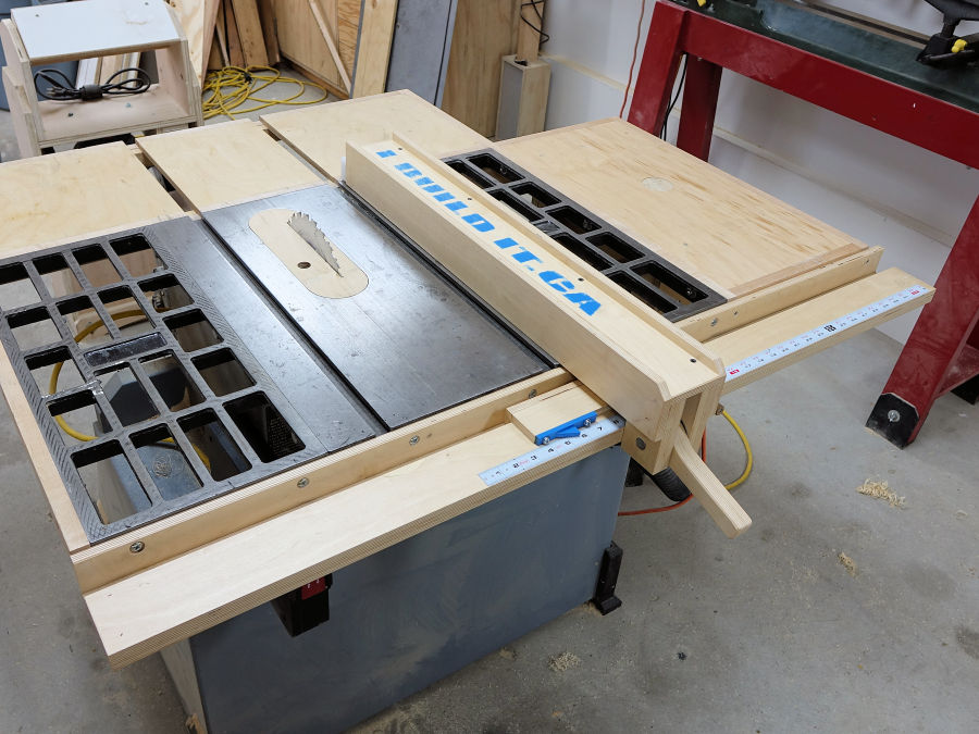 diy table saw fence