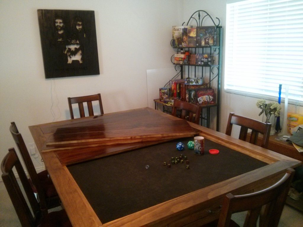Board Games Table