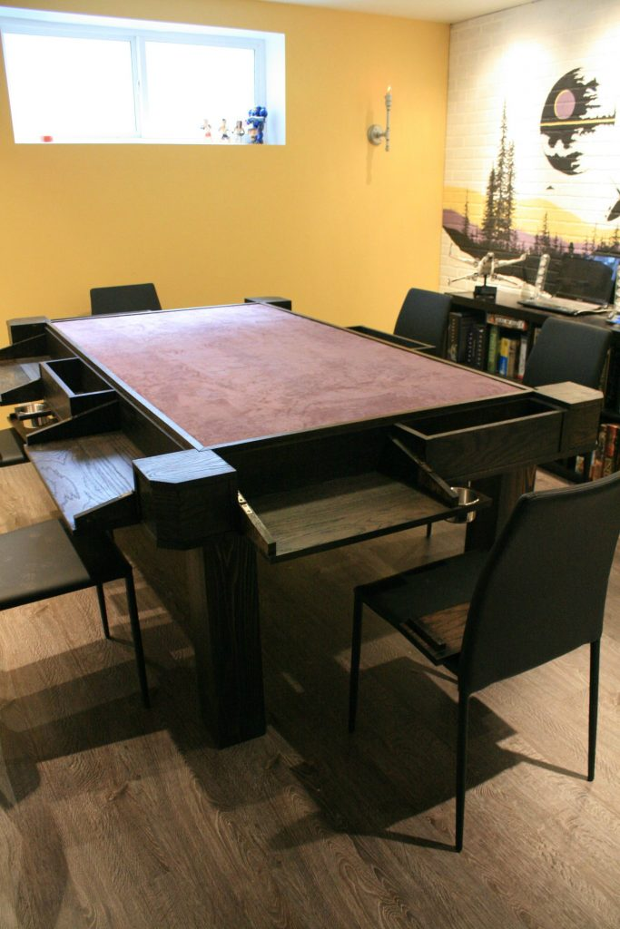 Custom DIY Board Game Table