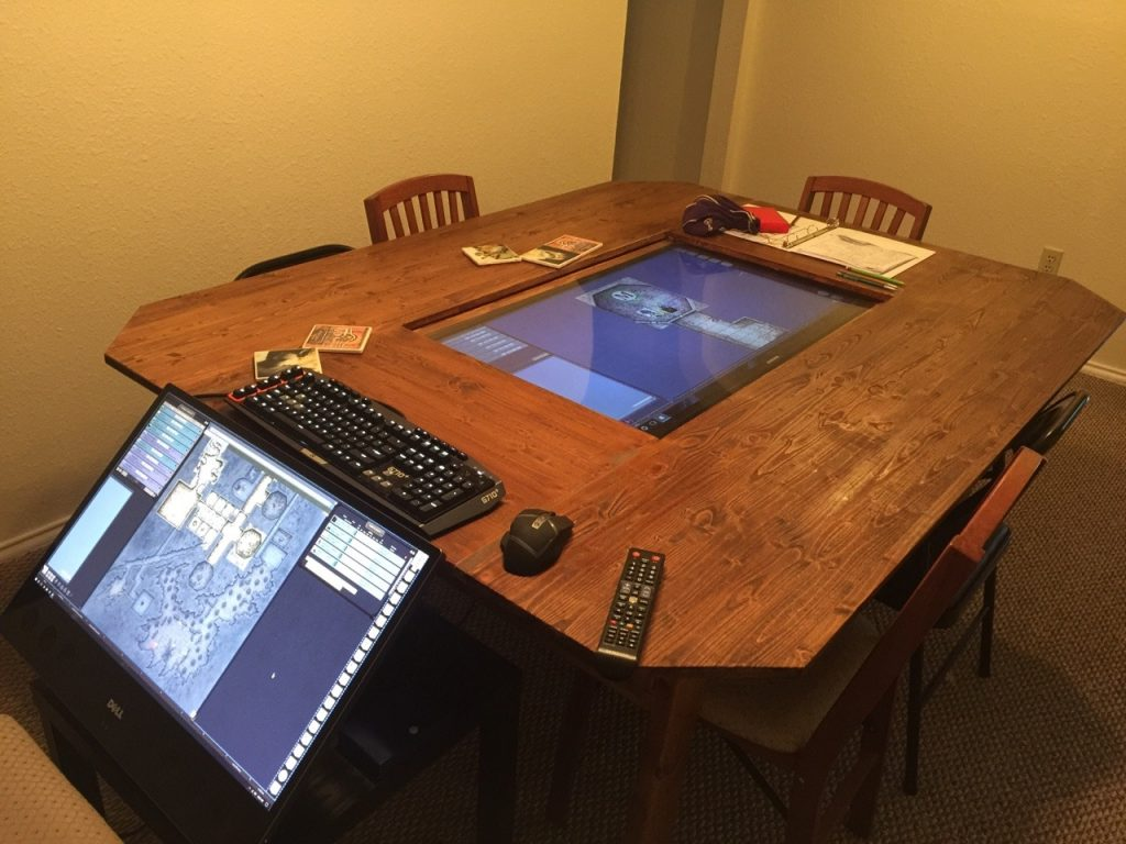 Digital DIY Gaming Table