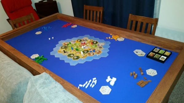 Turn An ordinary Table Into a DIY Gaming Table