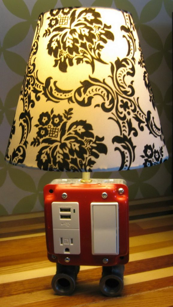 Lamp and USB Charging Station