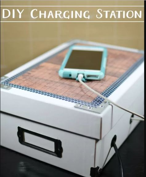 Photo Box Charging Station