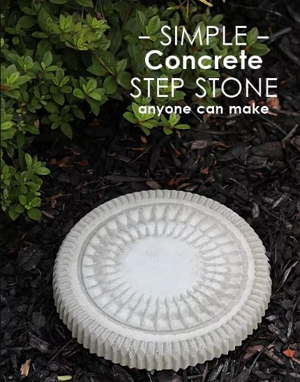 Concrete Garden Stepping Stones