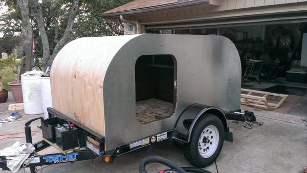 17 Cool DIY Camper Trailers To Enjoy Your Outdoor Trips