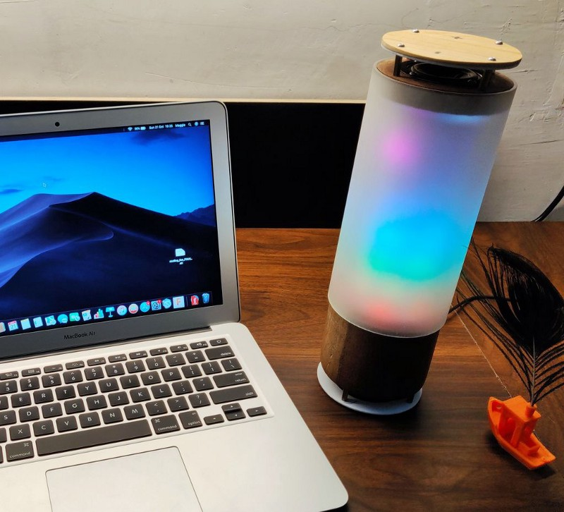 DIY Bluetooth Speaker With Lights