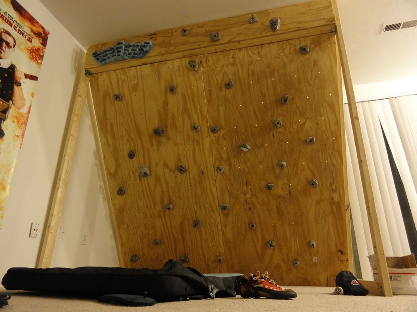 Freestanding Indoor Rock Climbing Wall