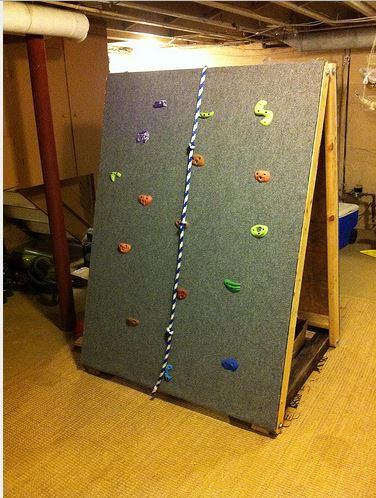 Portable Kids Climbing Wall