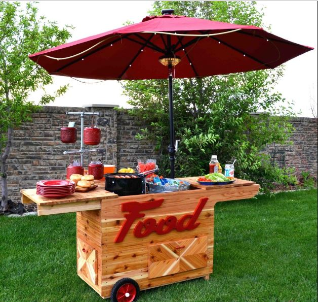 Beverage Cart Lemonade Stand