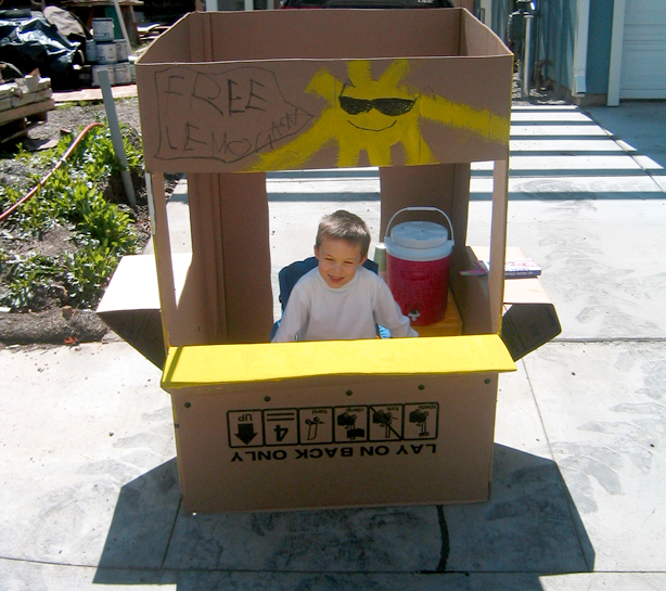 Carnival Booth Lemonade Stand