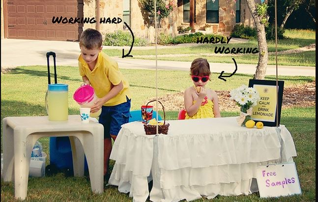 Fancy Lemonade Stand