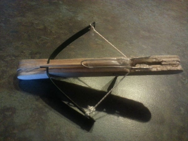 DIY crossbow