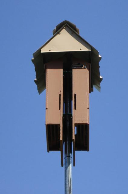 Four-Chamber Bat House