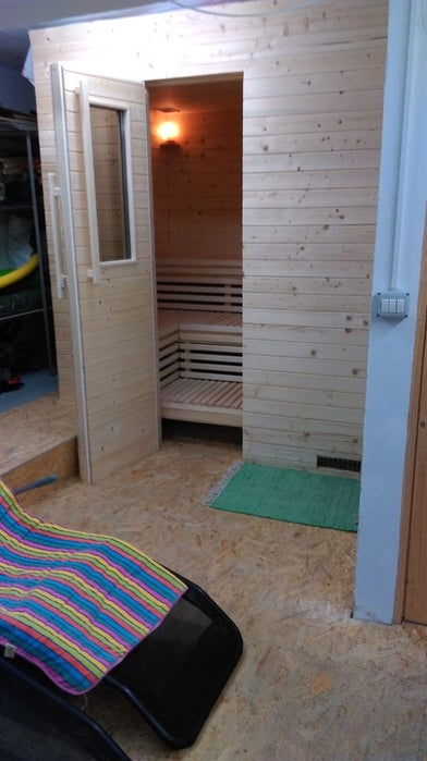 Outdoor Sauna Plan
