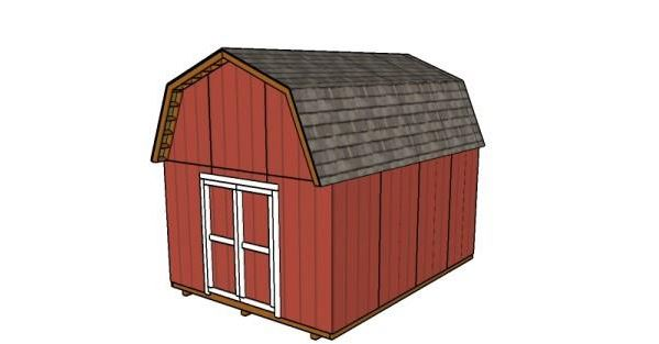 how to build a basic barn shed
