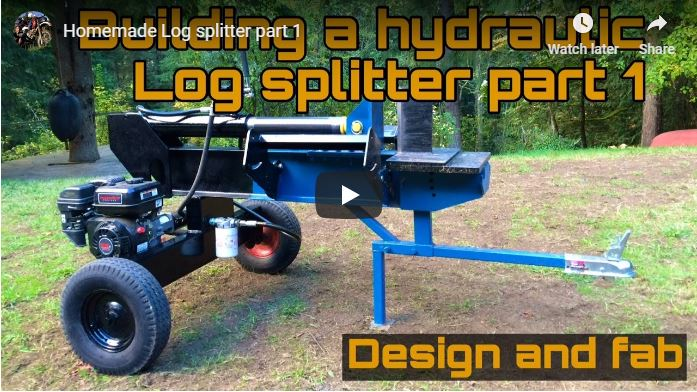 Cheap Homemade Log Splitter