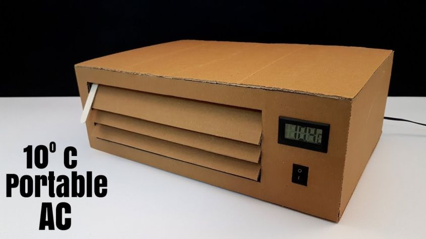 Portable Cardboard Air Conditioner