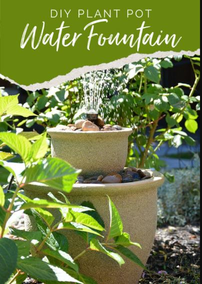 Planter Pots Water Fountain