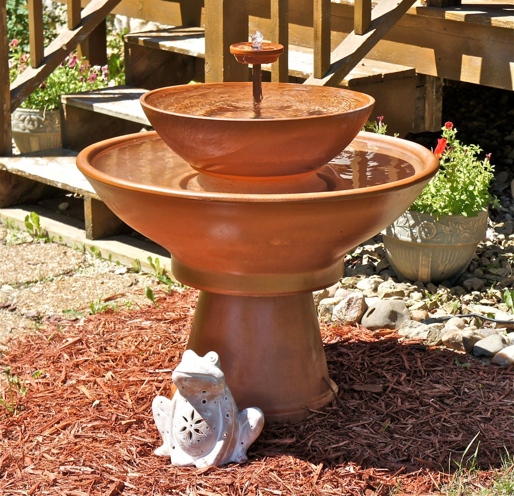 Terra Cotta Water Fountain