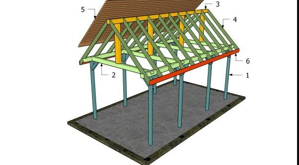 building a wood pavilion