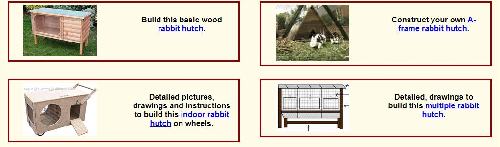 9 Rabbit Hutch Plans
