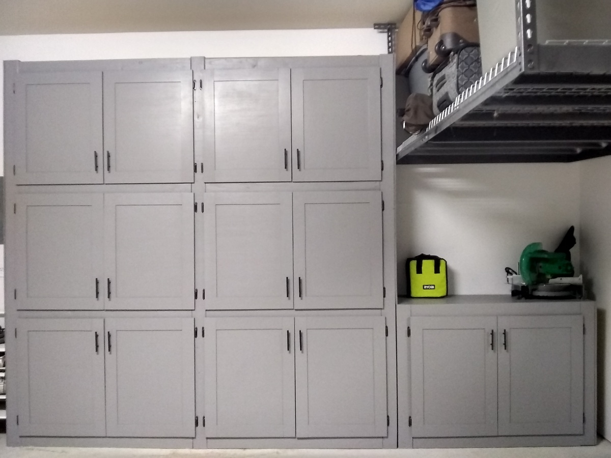 Garage Shelves With Doors