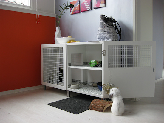 Indoor rabbit hutch plans