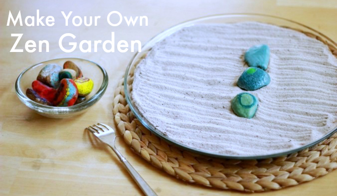 Colorful DIY Zen Garden