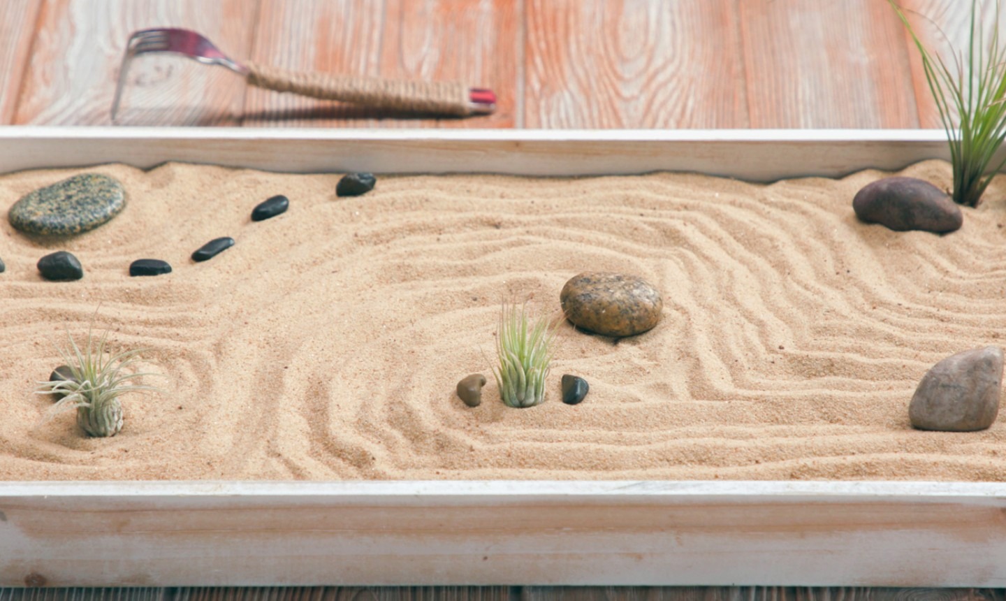 DIY Zen Garden For Chilling