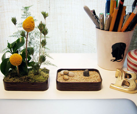 DIY Zen Garden in Tins