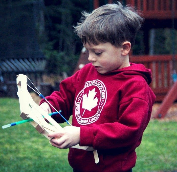 Kid's Wooden Bow and Arrow