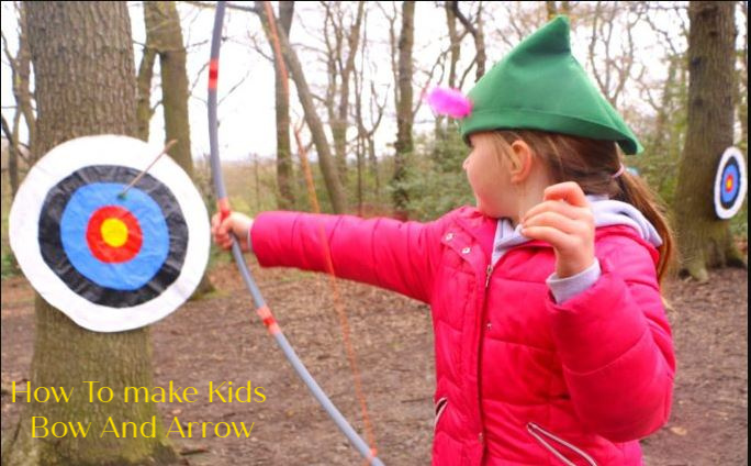 Kid's PVC Bow and Arrow