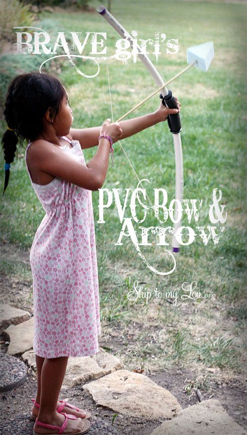 PVC Pipe Bow and Arrow