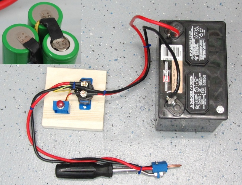 Battery Pack DIY Spot Welder