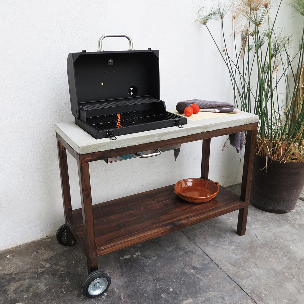 15 DIY Grill Station For Outdoor BBQ And Cooking - The ... on Diy Patio Grill Island id=50680