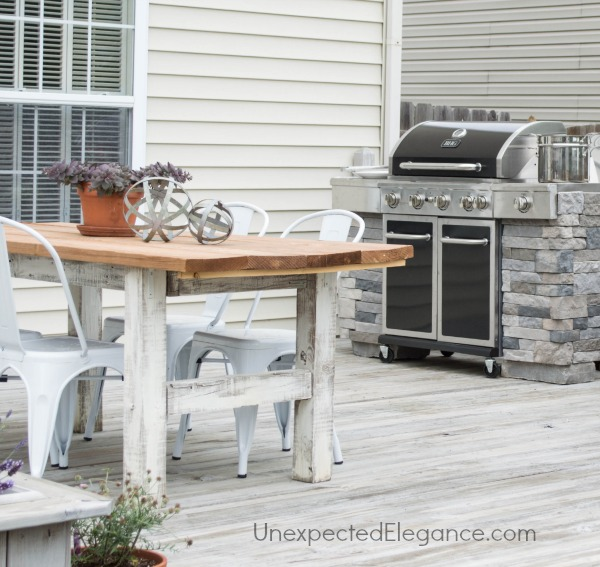 Faux Rock DIY Grill Station