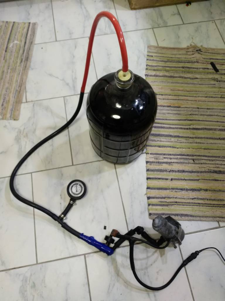 Home Distillery Vacuum Pump
