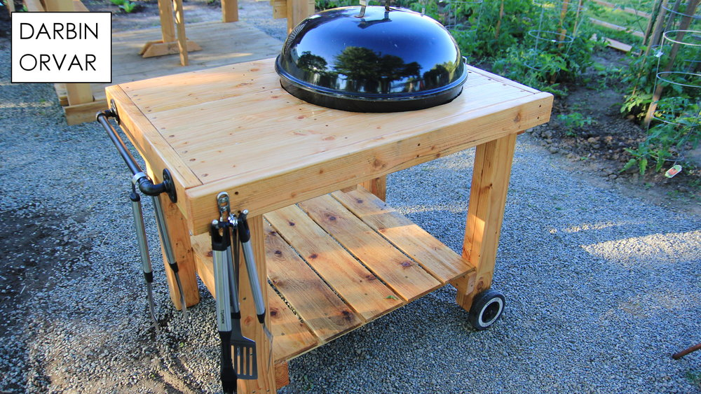 Rolling Grill Station