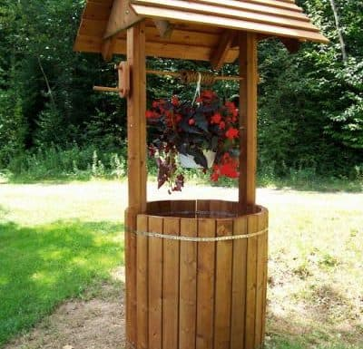 Garden Wishing Well