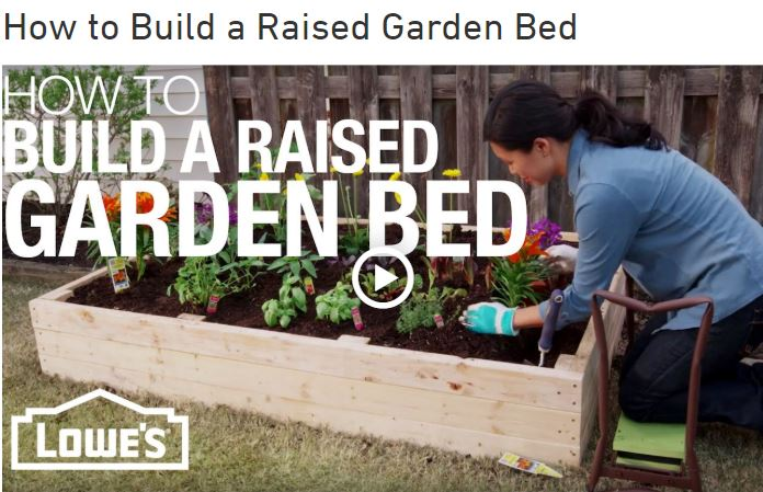 DIY Raised Garden Bed Frame