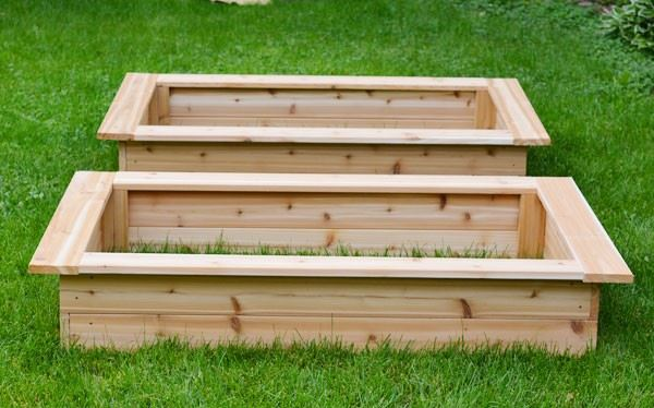Side Shelf DIY Raised Garden Bed