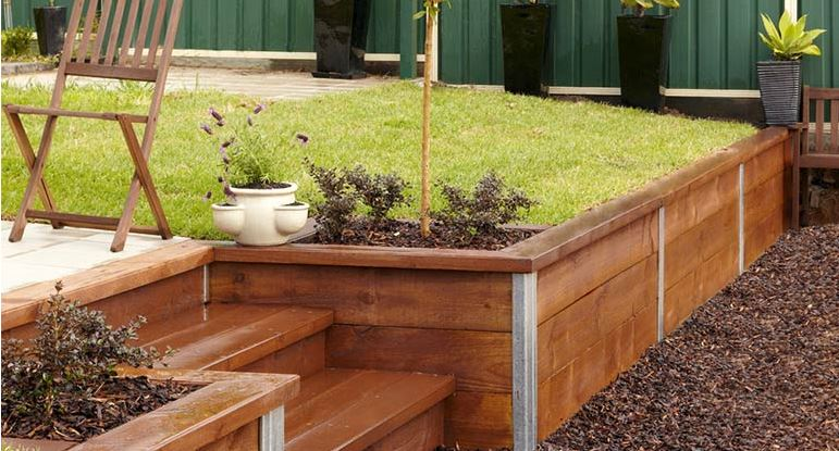 DIY Retaining Wall In a Day