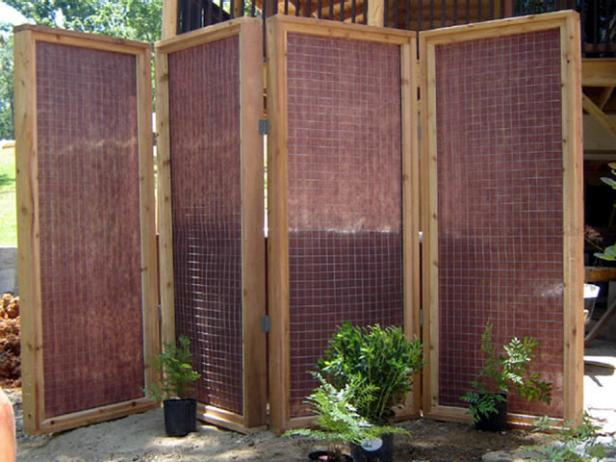 Hot Tub Privacy Screen