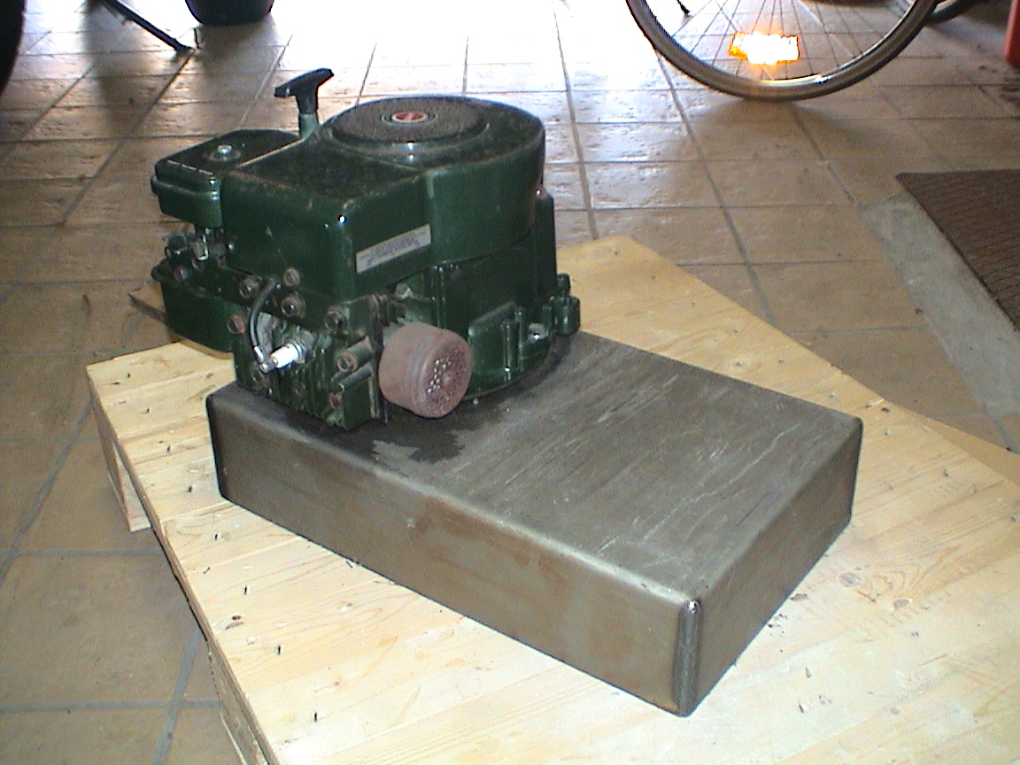 Lawn Mower Engine DIY Generator