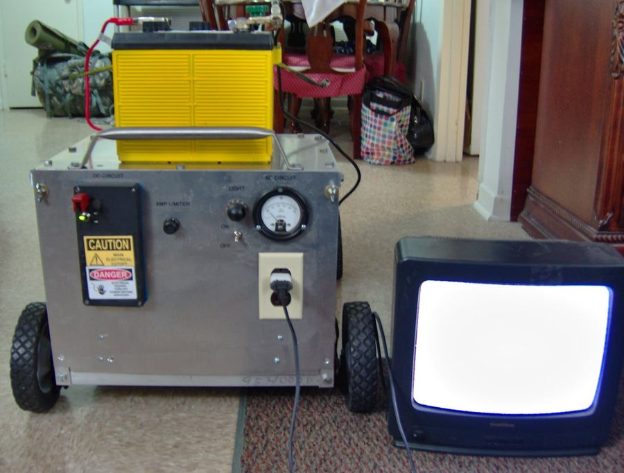Lawn Mower Powered DIY Generator