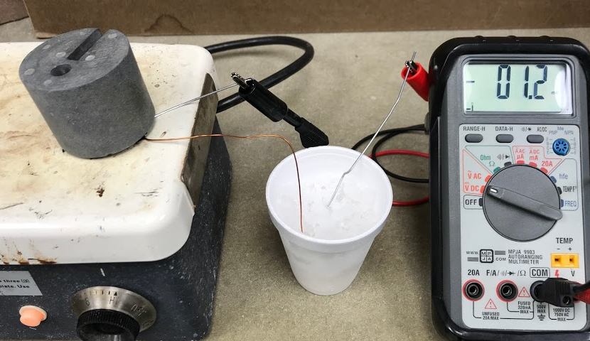 Thermoelectric Homemade Generator